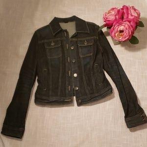 Club Monaco dark Jean jacket